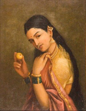372px-Raja_Ravi_Varma_-_Woman_Holding_a_Fruit_-_Google_Art_Project