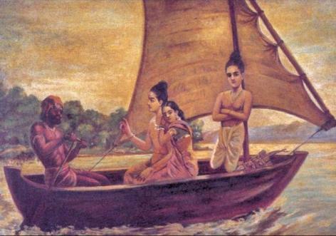 Raja_Ravi_Varma,_Sree_Rama_Crossing_Sarayu_river