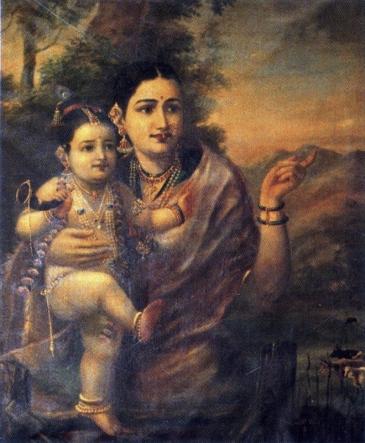 Raja_Ravi_Varma,_Yasoda_with_Krishna