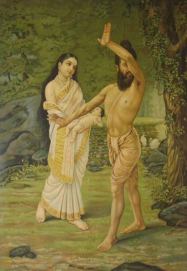 Raja_Ravi_Varma_-_Mahabharata_-_Birth_of_Shakuntala