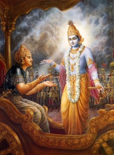 Bhagavadgita-Arjuna-Krishna